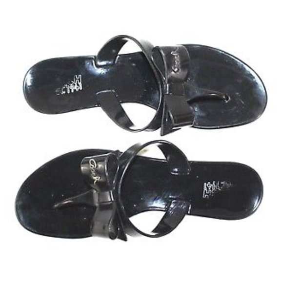 ff442d42c13f2d Coach Shoes -  Coach  Pretty Bow Jelly Flip Flop Sandals A8533